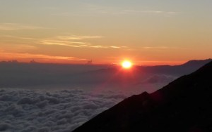 Mount Semeru sunrise, Java, Indonesia