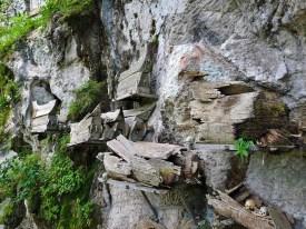 Kete Kesu hanging graves, Sulawesi, Indonesia