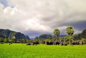 Beautiful Leang-Leang Karsts in Maros Regency, South Sulawesi