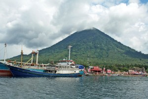 Jailolo port, Halmahera, Maluku, Indonesia