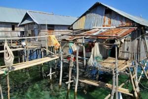 Jorongo sea gypsy village, Maluku, Indonesia