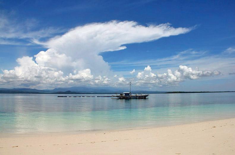 Kokoya island, south of Morotai, Indonesia