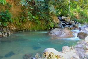 Malanage Hot Springs near Bajawa, Flores