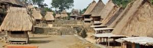 Bena traditional village near Bajawa, central Flores