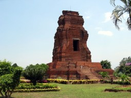 Brahu Temple, believed to be the oldest of the Trowulan temples, Java