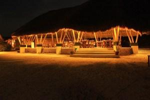 Resaturant at Komodo Island Resort, Sebayur Island