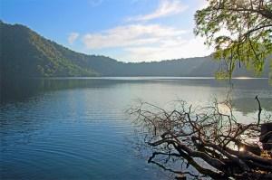 Satonda Island volcanic crater lake