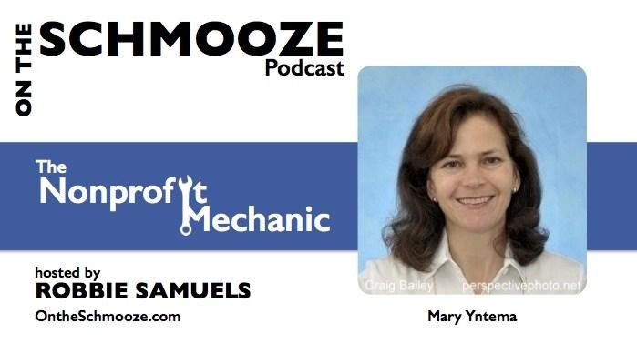 The Nonprofit Mechanic - Mary Yntema