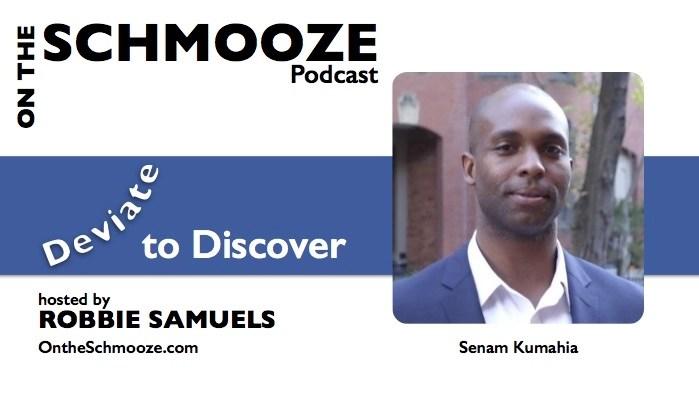 Deviate to Discover - Senam Kumahia