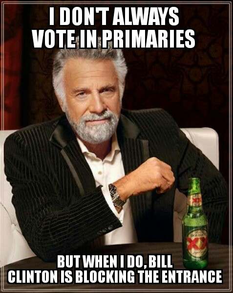 I Don't Always Vote In Primaries…