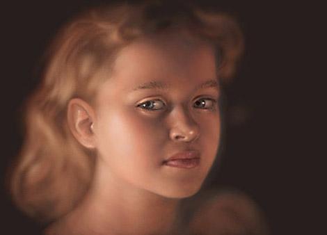 Digital Portrait Tutorial - Step 5