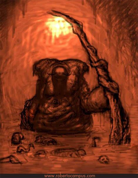 Photoshop Tutorial : Soul Eater Fantasy Digital Painting Step 1