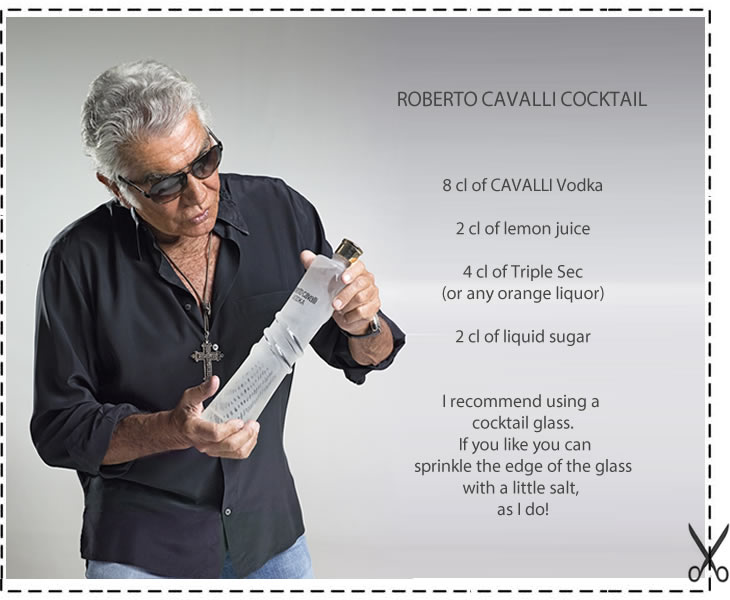 Roberto Cavalli Cocktail