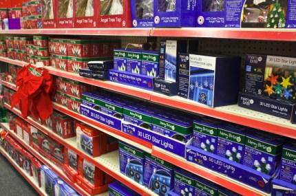 Store Display - Christmas Lights. Robert Gillis Photo