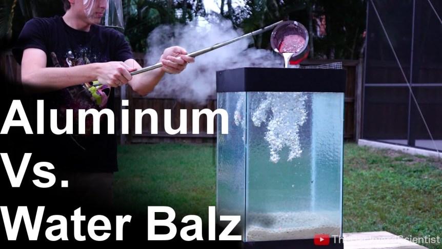 Molten Aluminium and Water