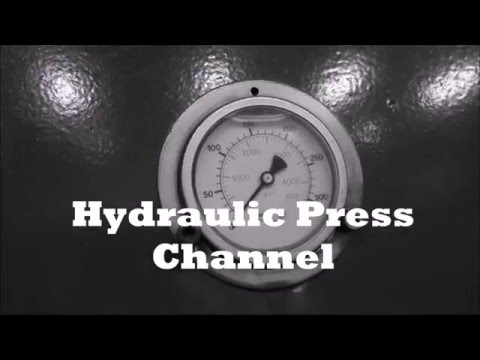 Lego vs Hydraulic Press