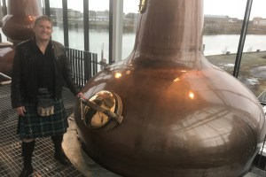 Writing for Glasgow's Clydeside Distillery