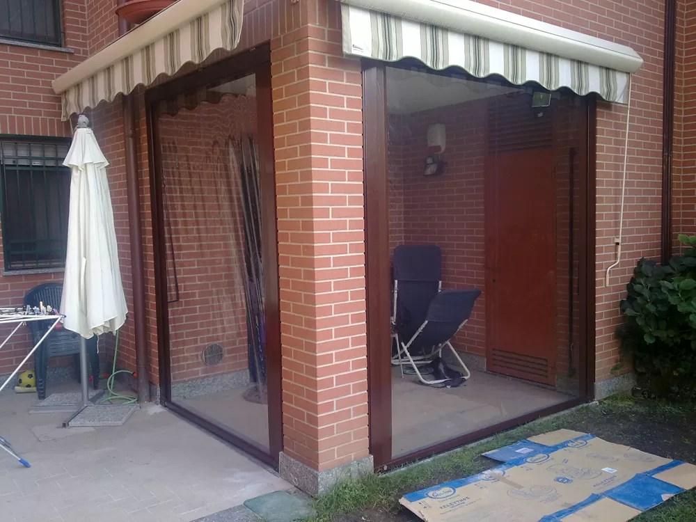 Tende per chiusura verande Olgiate Comasco - Robustelli Tende