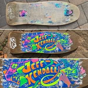 SANTA CRUZ JEFF KENDALL GRAFFITI