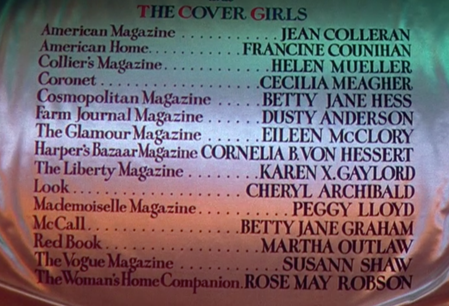 From 5th Ave to Sunset Blvd. High fashion meets Hollywood in the movie Cover Girl.