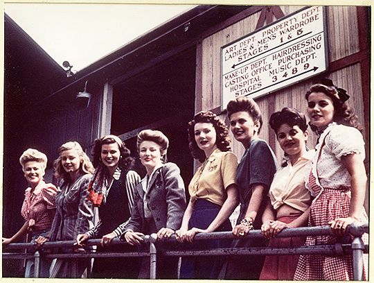 Eight out of the fifteen cover girls selected by various women's publications to appear in the movie.