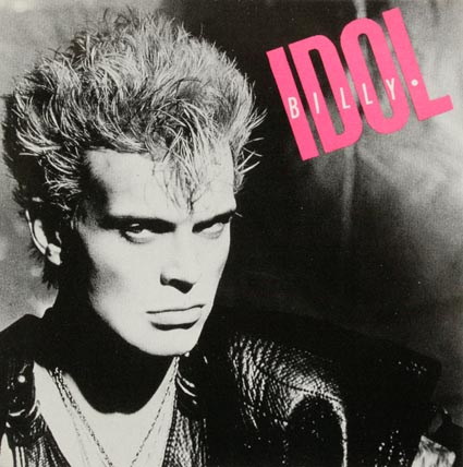 Billy Idol   Square Sticker