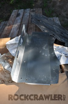 Holz Racing Skid Plate and Pre Runner Bumper upgrade
