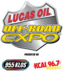 Off RoadExpo LucasOil 131x150 Two Great Off Road Events – One Great Cause   Two Separate Weekends