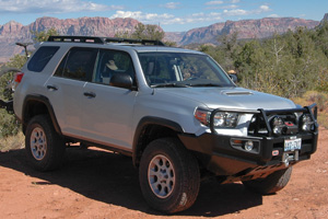 2010 12 OME 4Runner 2010 On Toyota 4Runner Old Man Emu Suspension System