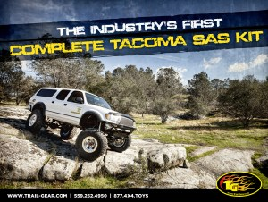 2011 01 Trail GearTacomaSAS 300x226 New Product   Tacoma SAS Kit B