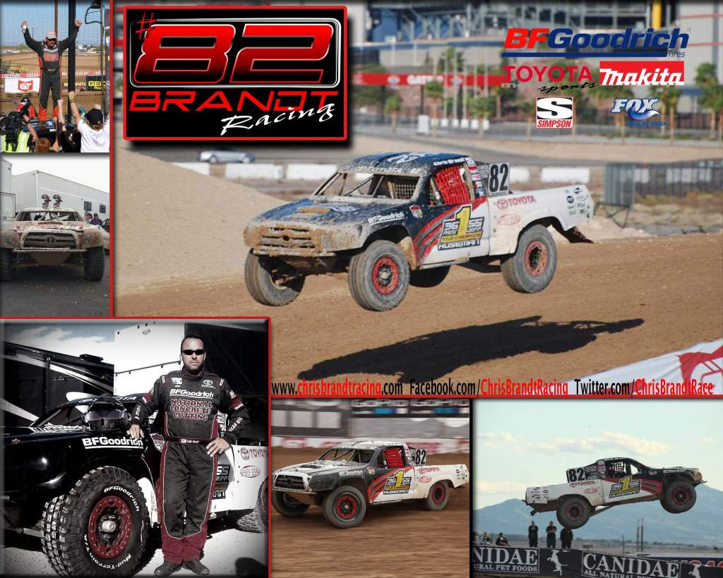 ChrisBrandt AZ Poster low 1024x819 Chris Brandt Championship Race at Lucas Oil Off Road Final Round