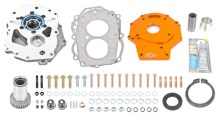 Dual Transfer Case Adapter Plate Kit 220x118 TRAIL GEAR EXPANDS TRAIL CREEPER™ AND ROCK ASSAULT™ LINES WITH NEW PRODUCTS FOR 1995 2004 TOYOTA TACOMAS