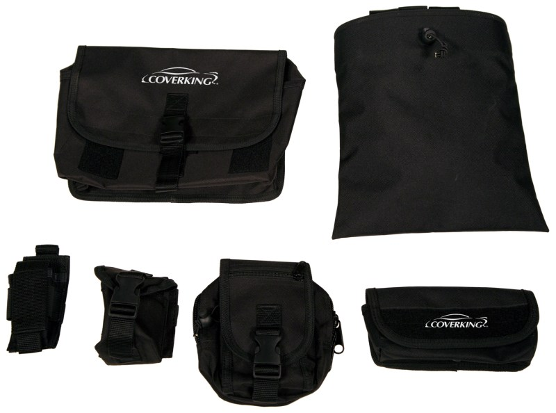 TacticalPouches 800x594 Coverking's Tactical Seat Covers Bring the Versatility of M.O.L.L.E. Attachment Systems to any Vehicle
