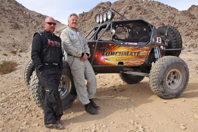JT Taylor Doug Nagy JT Taylor Races NORRA Mexican 1000 in Ultra4 Car