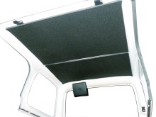 TJ Jeep Headliner 220x165 Boom Mat Introduces:Jeep Wrangler Sound Deadening Headliner for 1997 2006 TJ's