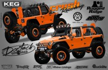 "Crush Recovery 2012 SEMA Project Vehicle 220x142 DAVE DOETSCH TO DEBUT ""CRUSH RECOVERY"" JEEP® AT OMIX/RUGGED RIDGE  OFF ROAD SUCCESS CENTER DURING 2012 SEMA SHOW"