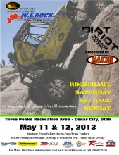 WE Rock 5.11 169x220 Double Header Weekend in Cedar City Utah with W.E. Rock Rock Crawling and Dirt Riot Endurance Racing
