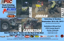 Grands1 220x142 PSC Motorsports W.E. Rock Professional Rock Crawling Grand Nationals in Cortez Colorado