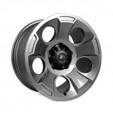 Rugged Ridge Drakon Wheels - Gun Metal