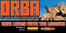 Lunch with the Legendsheader 220x109 OFF ROAD BUSINESS ASSOCIATION (ORBA) TO HOST VIP EXPERIENCE