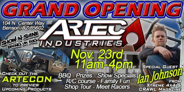Artec Grand Opening 600x303 Artec Industries New Facility to Fit More Machinery