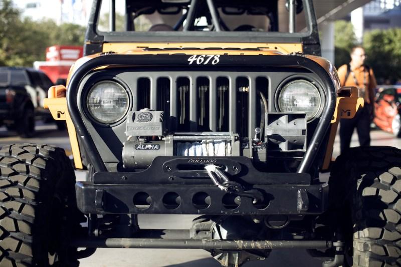 jeep 7 800x533 SEMA 2013: Built up Jeep Wrangler TJ Rock Crawler