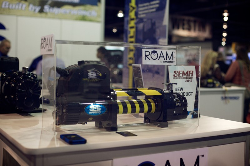 superwinchroam 2 800x533 SEMA 2013: Superwinch ROAM   Control Your Winch with Your Smartphone