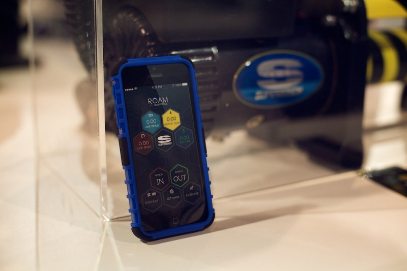 superwinchroam 3 800x533 SEMA 2013: Superwinch ROAM   Control Your Winch with Your Smartphone