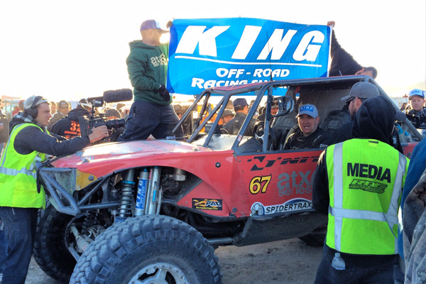 King Shocks KOH 05 King Shocks Reign Dominant at 2014 King Of The Hammers
