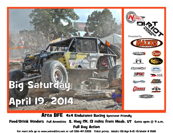 Mtn1 4.19.14 page 0 600x463 Dirt Riot Long Drivers List for Big Saturday Race in Moab this Weekend at AreaBFE