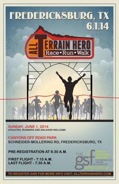 all terrain hero fredericksburg_poster