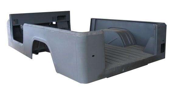 Omix-ADA Jeep CJ-8 Steel Body Tub (High Res)