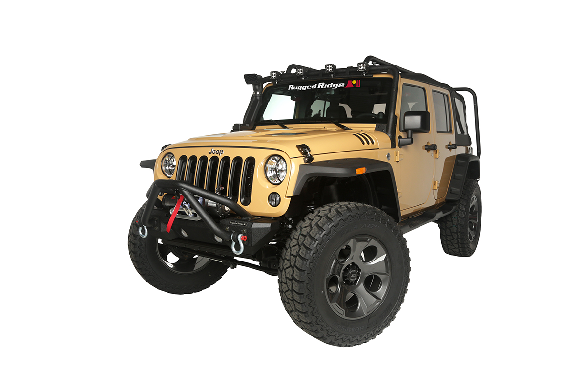 rugged ridge announces new jeep restyling packages for. Black Bedroom Furniture Sets. Home Design Ideas