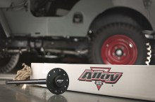 Alloy USA Rear Axle Shaft with background High Res 220x146 ALLOY USA INTRODUCES LINE OF PERFORMANCE REAR AXLE SHAFTS FOR JEEP, DODGE, FORD, GM AND INTERNATIONAL APPLICATIONS